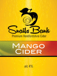 Snails Bank Mango Cider