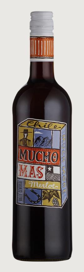 Mucho Mas Merlot (Chile) 75cl