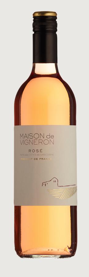 Maison de Vigneron Rose, Cotes de Gascogne (France) 75cl