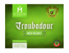 Troubadour Westkust - IPA - Imperial / Double Black 330ml