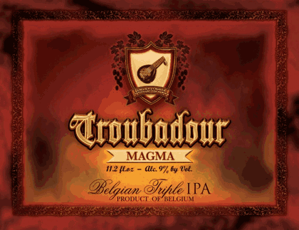 Troubadour Magma - IPA Triple 330ml